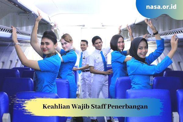 Keahlian Wajib Staff Penerbangan