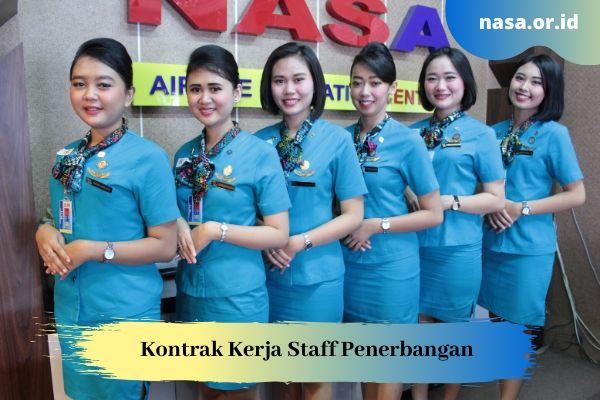 Kontrak Kerja Staff Penerbangan