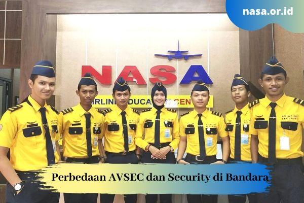 Perbedaan AVSEC dan Security di Bandara