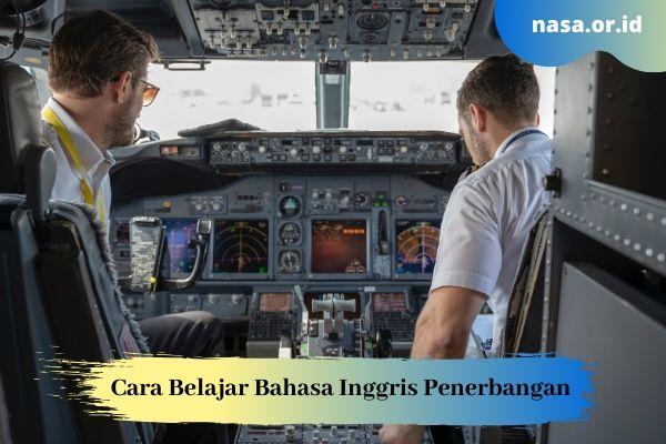 Cara Belajar Bahasa Inggris untuk Penerbangan