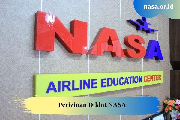 Perizinan Diklat NASA dari DISNAKER dan DISBUDPAR Bandung