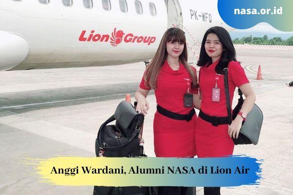 Anggi Wardani, Alumni NASA yang Bekerja di Lion Air