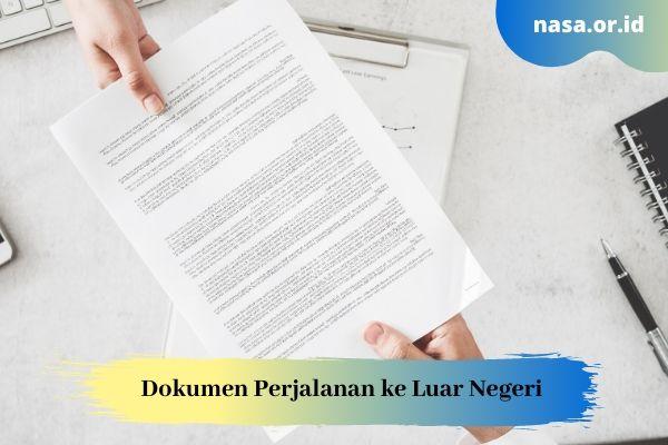 Dokumen ke Luar Negeri