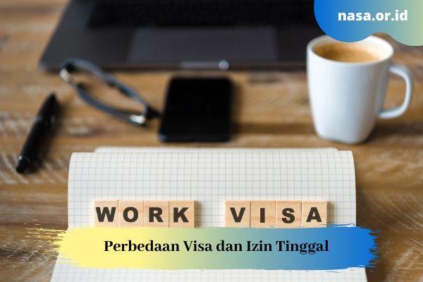 Perbedaan Visa dan Izin Tinggal (Residence Permit)