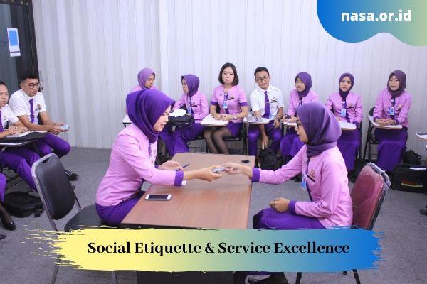 Social Etiquette & Service Excellence di Dunia Penerbangan