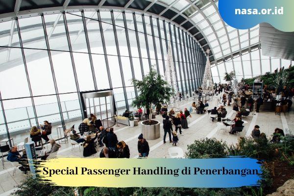 Special Passenger Handling di Penerbangan
