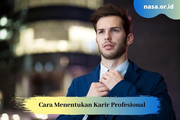 Cara Menentukan Karir Profesional