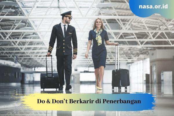 Do & Don't Berkarir di Penerbangan