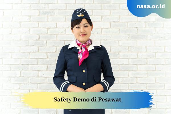Safety Demo di Pesawat