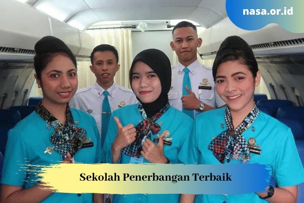 Sekolah Penerbangan Jurusan Pramugari, AVSEC, Staff Airlines Terbaik